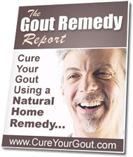 gout remedy report joe barton