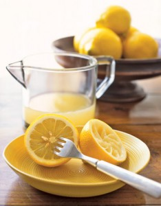 health properties of lemon juice