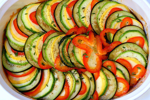 raw ratatouille